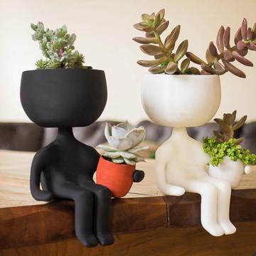 Vaso modelo Robert Planta vaso decorativo impressao 3d