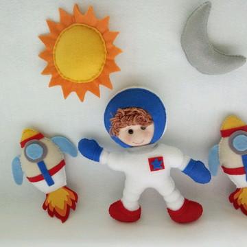 Amigurumi Astronauta em Feltro para NewBorn