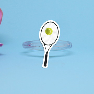 Porta-guardanapo individual - raquete de tênis