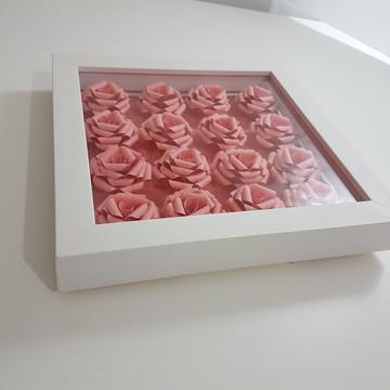 Quadro Caixa - Rosas