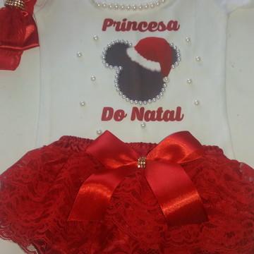 Kit de Natal - Collant + calcinha bunda rica Natal