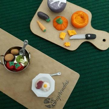 Kit miniaturas 1/12. Hora de cozinhar