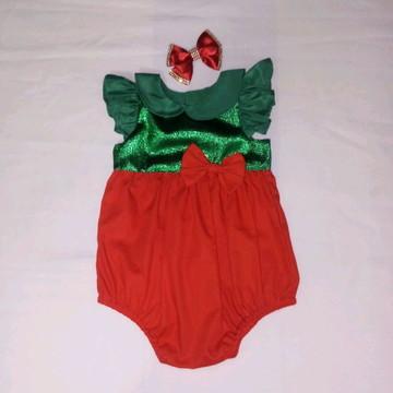 Fantasia bebê Natal