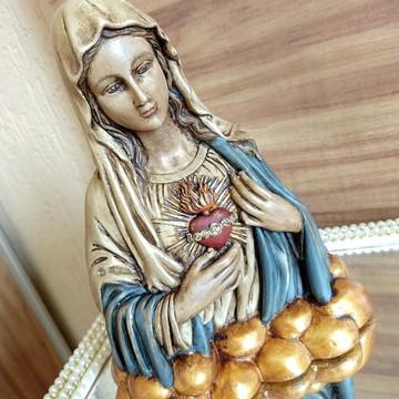 Sagrado coração de Maria busto - 22 cm