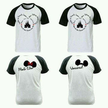 Camiseta para viagem Disney