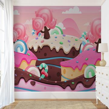 Painel de Parede - Candy World