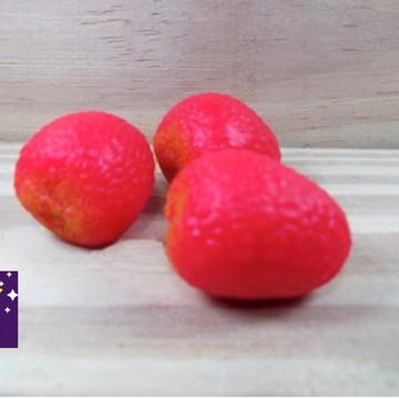 Lembrancinha Fazendinha lichia sabonete frutas Horta cha
