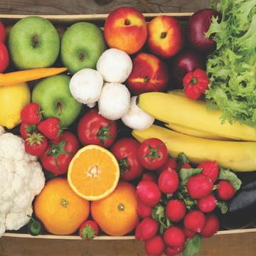 Painel Adesivo Frutas Verduras Legumes Mercadinho Comercio
