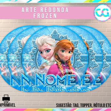 Frozen - Arte Redonda Digital