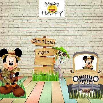 Kit Mickey Safari - mdf