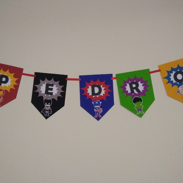 Bandeirola Vingadores