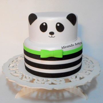 Bolo fake de eva Panda 3