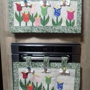 capa para forno eletrico tulipas ( duas ) capas 10-18