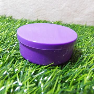 Latinha de Plástico Roxa