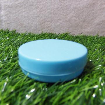Latinha de Plástico Azul Bebê