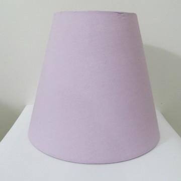 Cúpula para Abajur - lilás