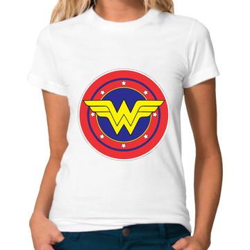 Camiseta Mulher Maravilha Wonder Woman DC