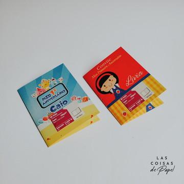 Convite Personalizado Impresso - 50 unidades
