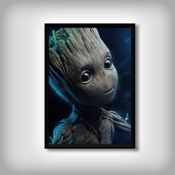 """Quadro """"Baby Groot"""""""
