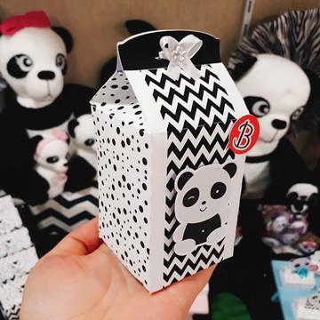 Caixa Milk | Panda