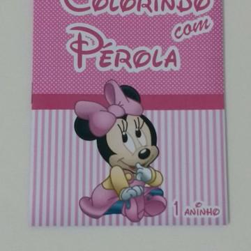 Revista para Colorir 10x14 - Minnie Baby