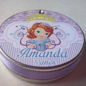 Latinhas Confete Lembrancinha Princesa Sofia