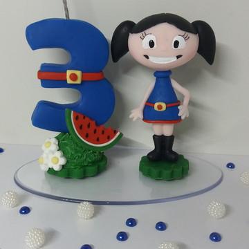 Vela Show da Luna biscuit
