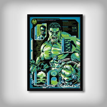 "Quadro do ""Hulk"""