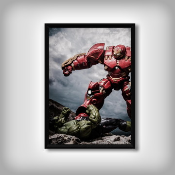 """Quadro do """"Homem de Ferro"""""""