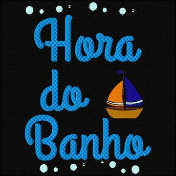 Matriz de bordado BCI0861 HORA DO BANHO MENINO