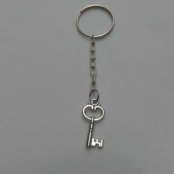 Lembrancinha chaveiro de chave prata