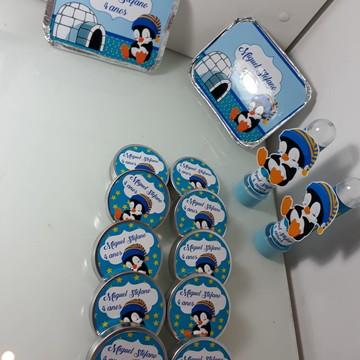 Kit Personalizado 90 itens marmitinhas + latinhas e tubetes
