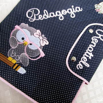 Pasta Universitária personalizada/ case de notebook