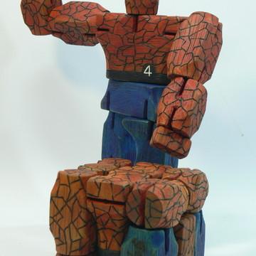 Homem de Pedra Gepeto Superheros