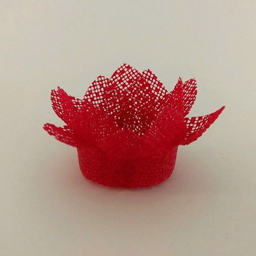 Forminha para doce - Coroa Dupla Vermelha