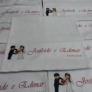 Toalha Lembrancinha Casamento