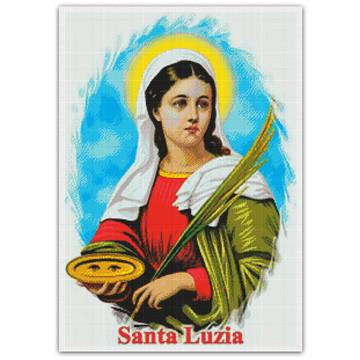 Santa Luzia - Gráfico Ponto Cruz