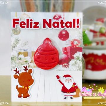 Cartão de Natal lembrancinha para empresa