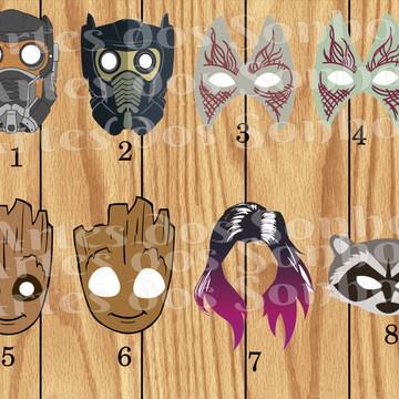 Máscaras Guardiões da galáxia