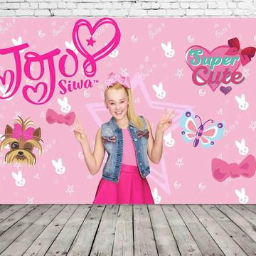 painel de festa Jojo Siwa