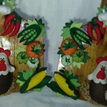 Tábua decorada duo