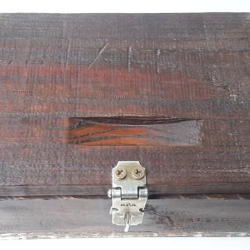 Caixa artesanal rústica provençal