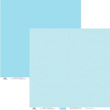 Papel Chevron - Azul Pastel