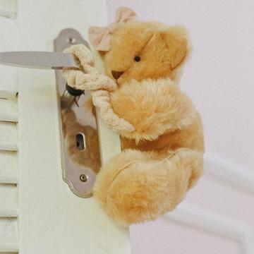 Protetor de porta - Urso