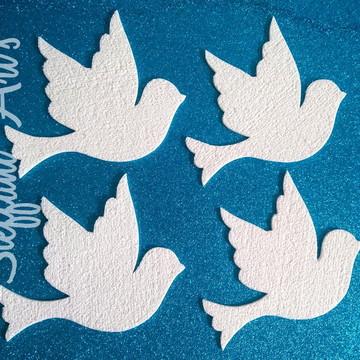 Aplique pomba da paz