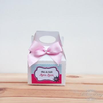 Caixinha surpresa personalizada Nautico rosa