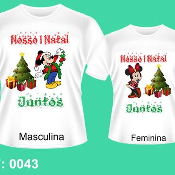 1d907f469 Kit camisetas Personalizadas Natal Casal