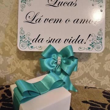 Placa daminha + convite daminha