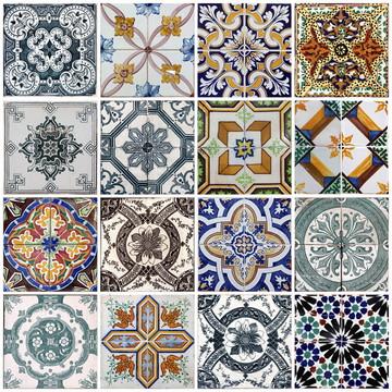Papel de Parede Adesivo Azulejo Cozinha Vinílico - Ref 4677