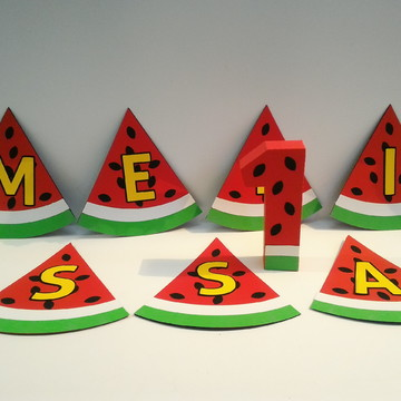 Kit Smash the Cake Melancia